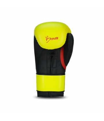 Bravose Nemesis yellow and black Premium Quality Boxing Gloves for Bag and Sparring