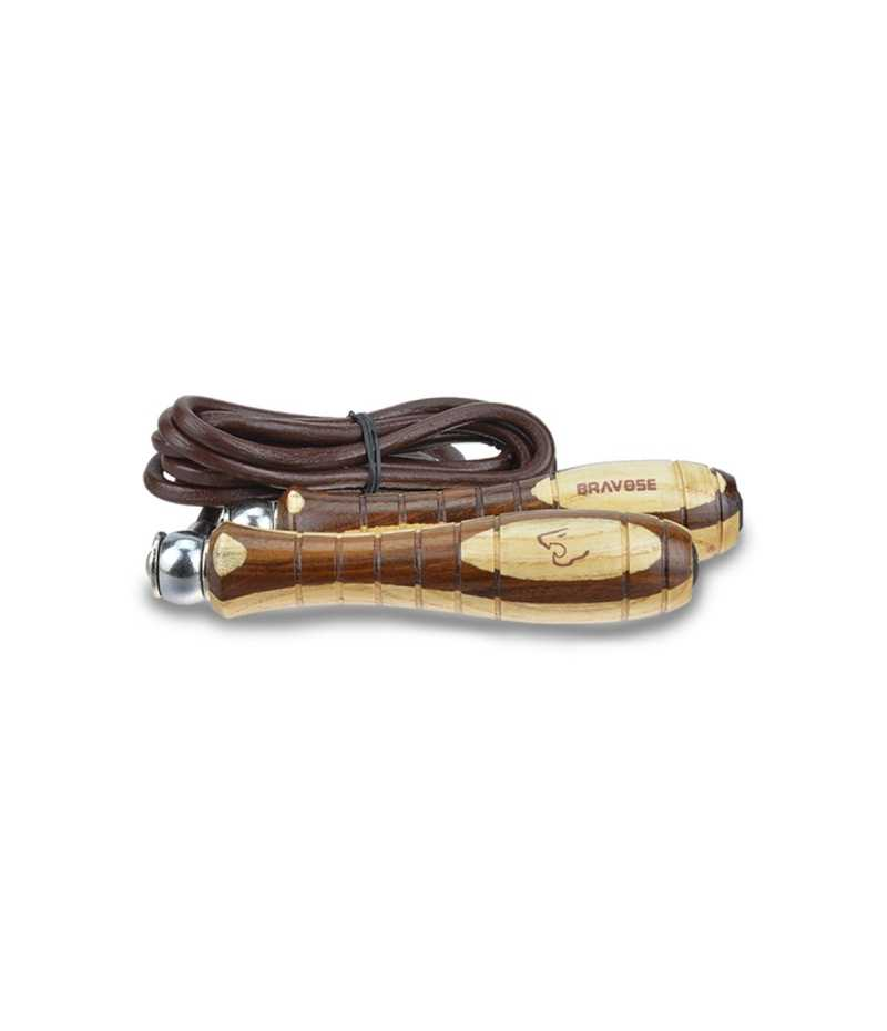 Bravose Premium Quality Weighted Leather 9FT Fitness, Training, Skipping Rope