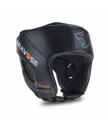 Armour™ Premium Quality Real Leather Head Guard Open Face
