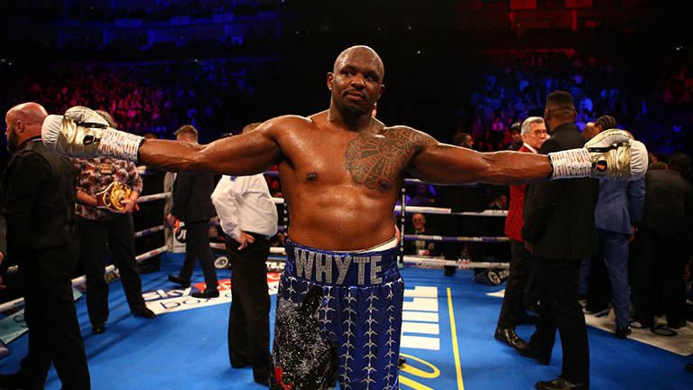 Dillian Whyte and the elusive title fight