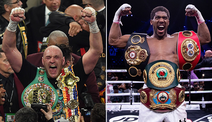 """Let's get it on"" - Anthony Joshua calls out Tyson Fury"